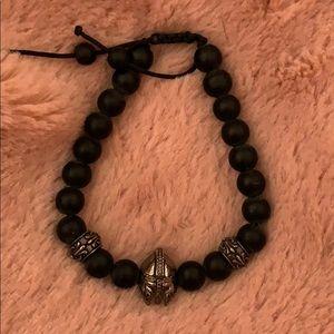 Onyx Gladiator Bracelet